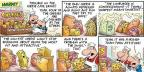 Cartoonist Bob Thaves Tom Thaves  Frank and Ernest 2013-02-10 cheese