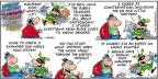 Comic Strip Bob Thaves Tom Thaves  Frank and Ernest 2013-06-16 meteor