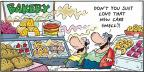 Cartoonist Bob Thaves Tom Thaves  Frank and Ernest 2013-07-14 smell