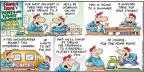 Cartoonist Bob Thaves Tom Thaves  Frank and Ernest 2013-08-18 baseball