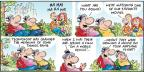 Cartoonist Bob Thaves Tom Thaves  Frank and Ernest 2013-09-22 our