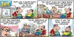 Cartoonist Bob Thaves Tom Thaves  Frank and Ernest 2013-10-13 business expense
