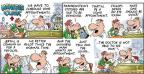 Cartoonist Bob Thaves Tom Thaves  Frank and Ernest 2014-01-12 length