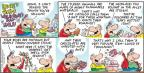Cartoonist Bob Thaves Tom Thaves  Frank and Ernest 2014-02-09 ever