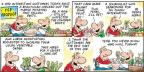 Cartoonist Bob Thaves Tom Thaves  Frank and Ernest 2014-03-16 vegetable