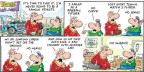 Cartoonist Bob Thaves Tom Thaves  Frank and Ernest 2014-04-20 baseball