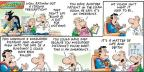 Cartoonist Bob Thaves Tom Thaves  Frank and Ernest 2014-04-27 fly