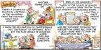 Cartoonist Bob Thaves Tom Thaves  Frank and Ernest 2014-07-06 father