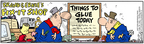 Cartoonist Bob Thaves Tom Thaves  Frank and Ernest 2005-12-17 fix it