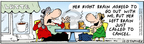 Cartoonist Bob Thaves Tom Thaves  Frank and Ernest 2006-12-13 just left
