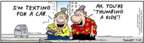 Cartoonist Bob Thaves Tom Thaves  Frank and Ernest 2007-07-24 thumb