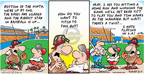 Cartoonist Bob Thaves Tom Thaves  Frank and Ernest 2007-08-05 baseball hit