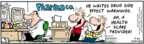 Cartoonist Bob Thaves Tom Thaves  Frank and Ernest 2007-08-20 drug