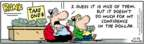 Cartoonist Bob Thaves Tom Thaves  Frank and Ernest 2007-10-22 $1.00