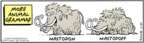 Cartoonist Bob Thaves Tom Thaves  Frank and Ernest 2007-11-27 animal grammar