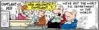 Cartoonist Bob Thaves Tom Thaves  Frank and Ernest 2008-03-12 worst
