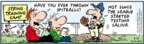 Cartoonist Bob Thaves Tom Thaves  Frank and Ernest 2008-03-21 baseball player