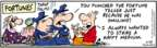 Cartoonist Bob Thaves Tom Thaves  Frank and Ernest 2008-06-28 strike