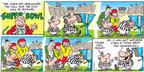 Cartoonist Bob Thaves Tom Thaves  Frank and Ernest 2003-01-26 umpire