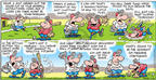 Cartoonist Bob Thaves Tom Thaves  Frank and Ernest 2003-05-18 bat