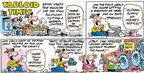Cartoonist Bob Thaves Tom Thaves  Frank and Ernest 2003-06-15 section