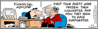 Comic Strip Bob Thaves Tom Thaves  Frank and Ernest 2006-09-04 freeze