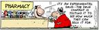 Cartoonist Bob Thaves Tom Thaves  Frank and Ernest 2006-05-01 drug test