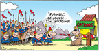 Comic Strip Bob Thaves Tom Thaves  Frank and Ernest 2006-08-13 horse