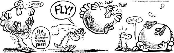 Comic Strip Nina Paley  Fluff 1997-11-26 alligator