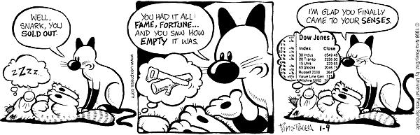 Cartoonist Nina Paley  Fluff 1998-01-09 content