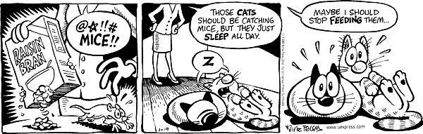 Cartoonist Nina Paley  Fluff 1998-01-19 food