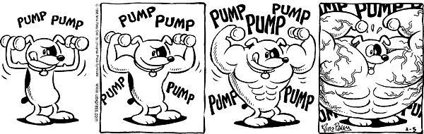 Cartoonist Nina Paley  Fluff 1998-02-05 image