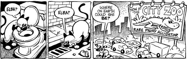 Comic Strip Nina Paley  Fluff 1998-03-16 Sasha