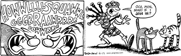 Cartoonist Nina Paley  Fluff 1998-04-17 growl