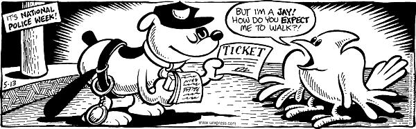 Comic Strip Nina Paley  Fluff 1998-05-13 ticket