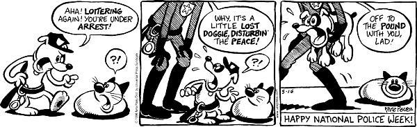Cartoonist Nina Paley  Fluff 1998-05-16 lost dog