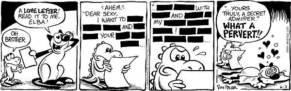 Cartoonist Nina Paley  Fluff 1998-06-03 Sasha