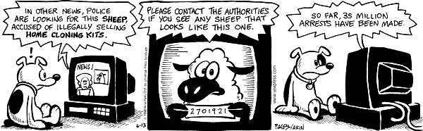 Comic Strip Nina Paley  Fluff 1998-06-13 authority