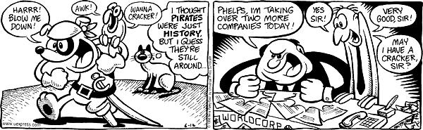 Comic Strip Nina Paley  Fluff 1998-06-16 respond