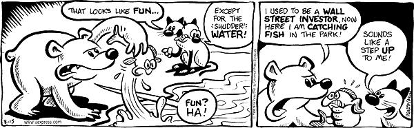 Comic Strip Nina Paley  Fluff 1998-08-15 bear