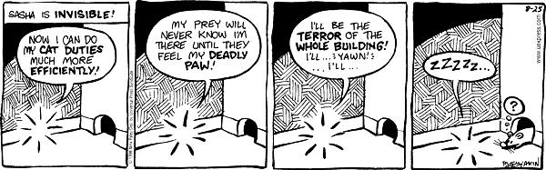 Comic Strip Nina Paley  Fluff 1998-08-25 question