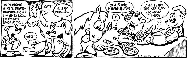 Cartoonist Nina Paley  Fluff 1998-09-03 taste