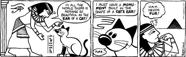 Comic Strip Nina Paley  Fluff 1998-09-18 purr