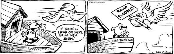 Cartoonist Nina Paley  Fluff 1998-10-17 highway