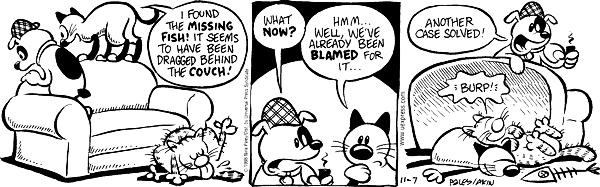 Comic Strip Nina Paley  Fluff 1998-11-07 spy