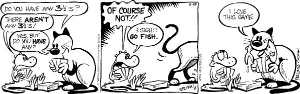 Cartoonist Nina Paley  Fluff 1998-11-10 fishy