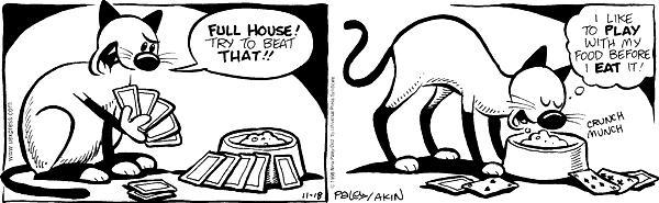 Comic Strip Nina Paley  Fluff 1998-11-18 food