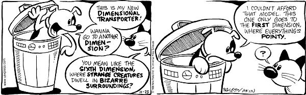 Cartoonist Nina Paley  Fluff 1998-11-23 fluff
