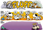 Cartoonist Nina Paley  Fluff 1998-03-15 cat
