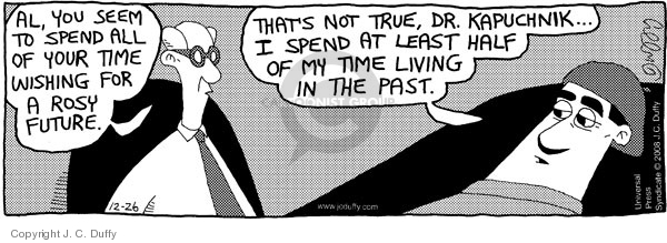 Comic Strip J.C. Duffy  Fusco Brothers 2008-12-26 therapy